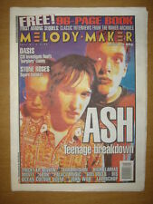 MELODY MAKER 1996 APR 20 ASH OASIS STONE ROSES BIS LUSH