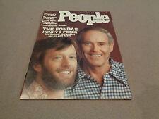 People - April 7, 1975 - Henry Fonda / Peter Fonda Cover