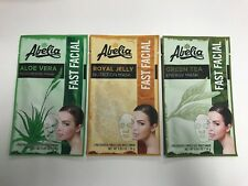 (3) AbeIia Korean Face Mask -ALOE VERA, GREEN TEA & ROYAL JELLY