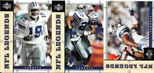 2004 Upper Deck Legends Dallas Cowboys Team Set (3 cards)