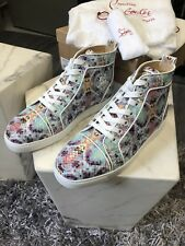 Christian Louboutin Multi Python Zapatillas-EU39/UK6
