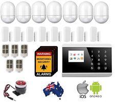 Wireless Home Security DIY Burglar Alarm system,Android-ios 3G+PSTN TFT Screen