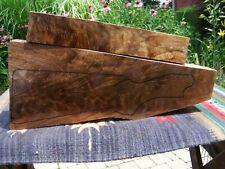 Black Walnut Feather Crotch Gunstock Blank