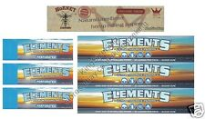 KING SIZE ELEMENTS ROLLING PAPERS AND HORNET HEMP AND ELEMENTS ROACH TIPS