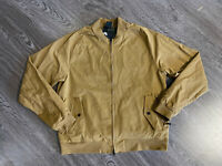 Nike SB Skateboard Bomber Jacket AJ9775-216 Golden Beige Camo Mens Size L $100