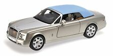 KYOSHO Rolls Royce Phantom Drophead Coupe Platinum/Blue Top 1:18*New Item*