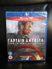 Captain America the First Avenger 3D/2D Blu-Ray Marvel Region Free New Sealed