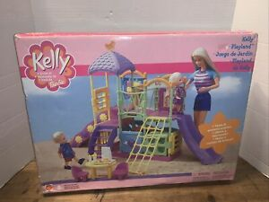 Vintage Barbie Kelly Playland Playground Jungle Gym Playset Ball Pit 2001 Mattel