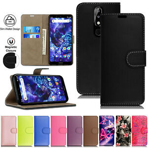 Luxury Wallet Flip Leather Card Case Cover For Nokia 2.3 4.2 3.1 5.3 1 2 3 5 6 8
