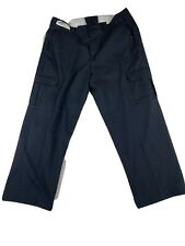 Navy Blue Cargo Pants - Red Kap, Cintas, Unifirst Dickies etc- Used Work Uniform