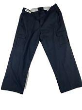 Navy Blue Cargo Pants - Red Kap, Cintas, Unifirst Dickies etc- Used Work Uniform