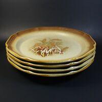 Mikasa Whole Wheat GRANOLA Dinner Plates Set of 4 Plate E8001
