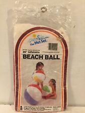 """New ListingVintage Wet Set Beach Ball 20"""" Inflatable Intex 1983 #59020"""