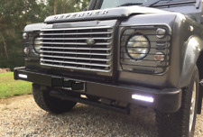 LAND ROVER DEFENDER 90 110 FRONT BUMPER WITH INTEGRATED LED DRL LIGHTS - DA8600
