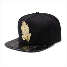 698e91f7493 Black Praying Hands 18k Gold Luxury Hip Hop Fashion Drake 6 GOD Snapback  Hat Cap