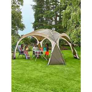 Cream Ozark Camping Sun Shelter Family Summer Garden Shade Waterproof Tent