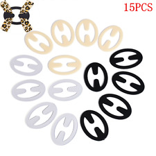 15PCS Bra Perfect Adjust Belt Buckle Clips Back Strap Holder Clip Cleavage TR