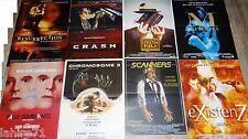 david cronenberg SCANNERS ; CHROMOSOME 3 ...   !  8 affiches cinema