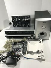 Philips MX3660D DVD Home Theater System Complete Set W/ Cables & Manuals. Tested