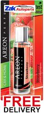 Areon Calidad Auto/Home Perfume cartón Ambientador fresa - 35ML * Nuevo *