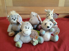 New Elliot & Buttons Friends Teddy Bears Soft Toy Animals