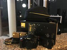 Nikon D5100 DSLR Camera - (Body Only)+ BAG+ 2 BATTERIES+ EXTRAS!$$$ BOXED!!