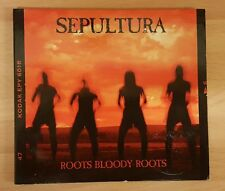 SEPULTURA 'ROOTS BLOODY ROOTS' - CD SINGLE WITH FIRST DAY COVER STAMP!