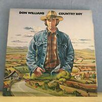 DON WILLIAMS Country Boy 1977 UK VINYL LP EXCELLENT CONDITION   A
