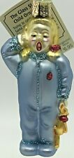Old World Christmas Glass Ornament Sleepy Child 10114 Retired Blonde Pigtails