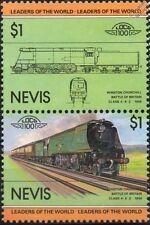 1945 SR Winston Churchill Battle of Britain Class 4-6-2 Train Stamps / LOCO 100