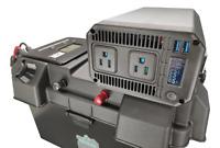 1000W (1KW) Pure Sine Solar Generator w Inverter, USB, 12V Inputs/Outputs
