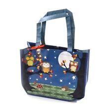 Santoro Woven Shopping Bag - Night Owls