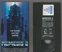 NEMESIS 2 II Horror VHS video Movie Gore Cult Slasher Sex
