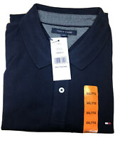 Tommy Hilfiger Mens Polo Navy XLarge