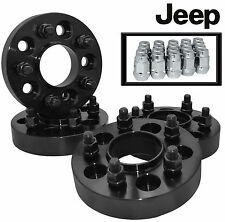 "JEEP WRANGLER 2007-2014 HUB CENTRIC WHEEL SPACERS 1.25"" THICK 1/2"" X 20 LUGS"