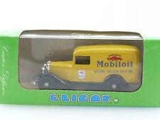 Eligor 1077 Ford V8 Camionnette 1934 Mobil Oil 1:43 neu MIB OVP 1410-26-03