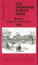 ORDNANCE SURVEY MAP BRISTOL (ASHLEY DOWN & EASTVILLE) 1902 FREE UK P&P