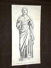 Statue du Christ Cathédrale de Reims