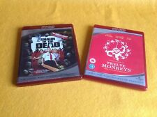 HDDVD Twelve Monkeys /Shaun of the dead /excellent condition SA2