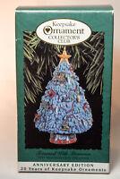 Hallmark: Trimmed With Memories - 1993 Members Keepsake Ornament