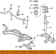 FORD OEM 05-07 Focus Front Suspension-Steering Knuckle Spindle 4S4Z3K185AA