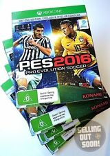 Pro Evolution Soccer 2016 Xbox One NEW! Day 1 PES 16 X1 football boots ball game