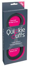 QUICKIE CUFFS HANDCUFFS MEDIUM Soft NO MARKS Police Party Fun Cuffs Sex Aid