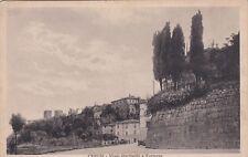 CHIUSI: Viale Garibaldi e Fortezza
