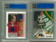 Guy Lafleur ITG Ultimate Vault 1/1 on UM9 Complete Package Ruby Logo