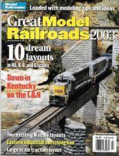Great Model Railroads 2003 N Scale Chicago HO L&N Kentucky Trolley Narrow Gauge