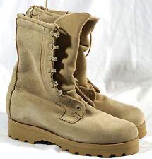 New Wellco Tan Army Combat Goretex Vibram Military Boots USA Mens Size US 5.5 R
