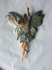 7� Fairy 3D Metal Ornament Flat Fairy Hanging Ornament