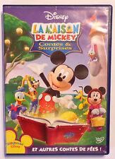 DVD WALT DISNEY / LA MAISON DE MICKEY CONTES & SURPRISES