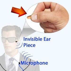 Invisible Hidden Small Mini Nano Tiny Earpiece Bug Mobile Phone Cheat Exam